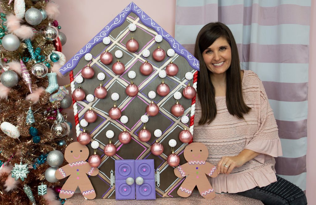 DIY Gingerbread Advent Calendar - Lynn Lilly