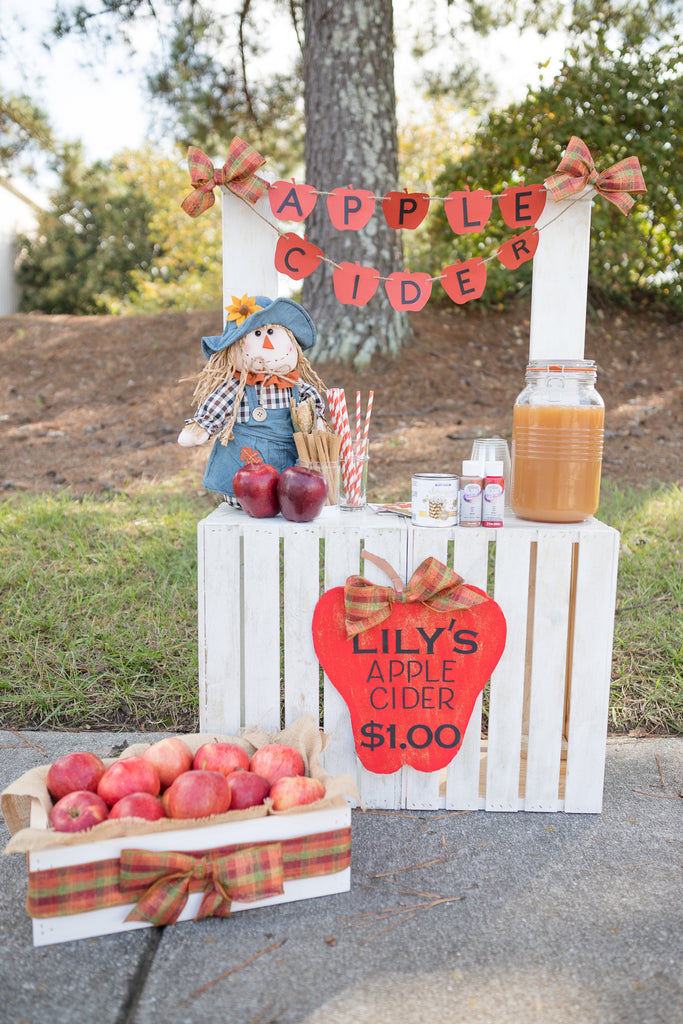 DIY Apple Cider Stand