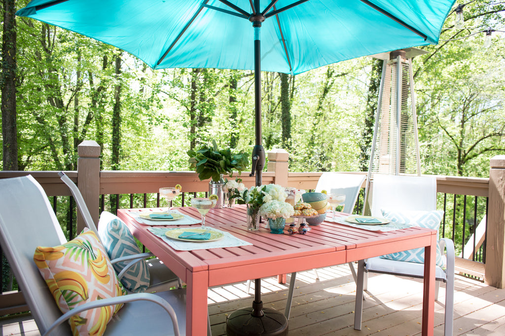 DIY Patio Table Flip