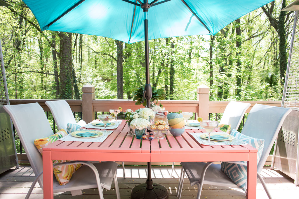 Outdoor Table Makeover Craft Box Girls