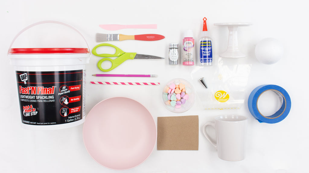 Diy Faux Whipped Cream Mug Toppers Craft Box Girls