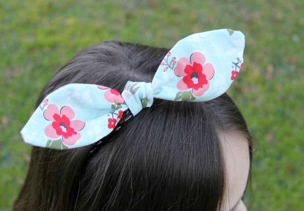 Cricut Top Knot Headband