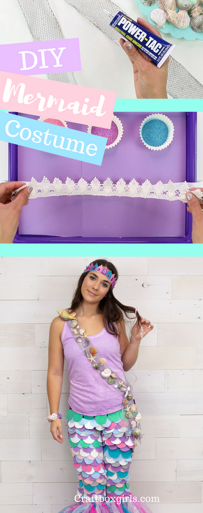 DIY Mermaid Halloween Costumes