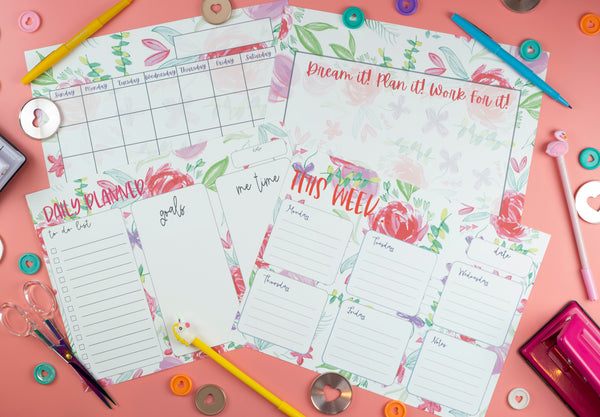 Creative Living DIY 12 Month Planner System - Craft Box Girls