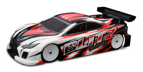 BLITZ GSF II 190MM TOURING CAR BODIES (0.7MM) - 60220-07 - ActivRC - 1