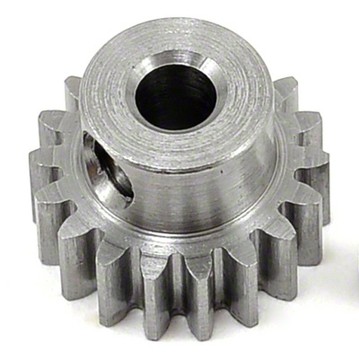 ROBINSON RACING Mod 0.6 Metric Steel Alloy Pinion Gear (16-20 Tooth)