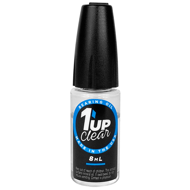 1UP RACING Clear Bearing Oil (8ml Oiler Bottle) - 120202