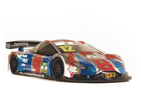 ZOORACING Wolverine 1/10 Touring Car Body Clear 190mm Standard 0.7mm - ZR-0011-07