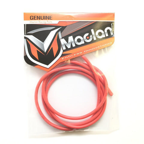 MACLAN 14AWG RED FLEX SILICON WIRE (3') - MCL4033 - ActivRC