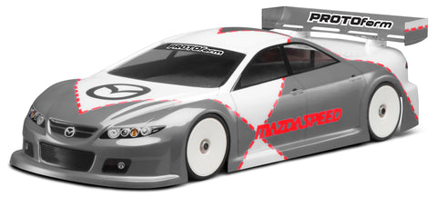 PROTOFORM Mazdaspeed6 Pro-Lite Weight Touring Car Body 190mm - 1487-22