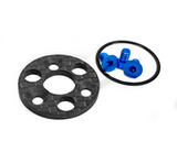 1UP RACING TC7.2 Center Pulley and Spur Plate Set - 150135