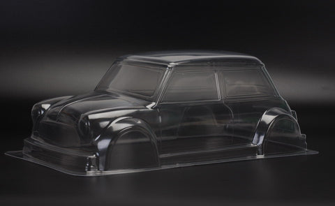 TEAM C Mini Cooper 225mm Clear Body - TM205