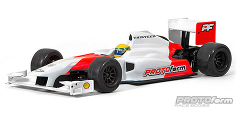 PROTOFORM F1-Thirteen Clear Body For F1 - 1537-30 - ActivRC