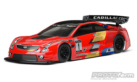 PROTOFORM Cadillac ATS-V.R Clear Body 200mm - 1548-30 - ActivRC - 1