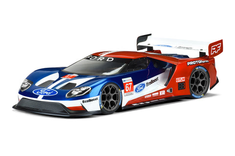 PROTOFORM Ford GT Light Weight Clear Body for 190mm TC - 1550-25