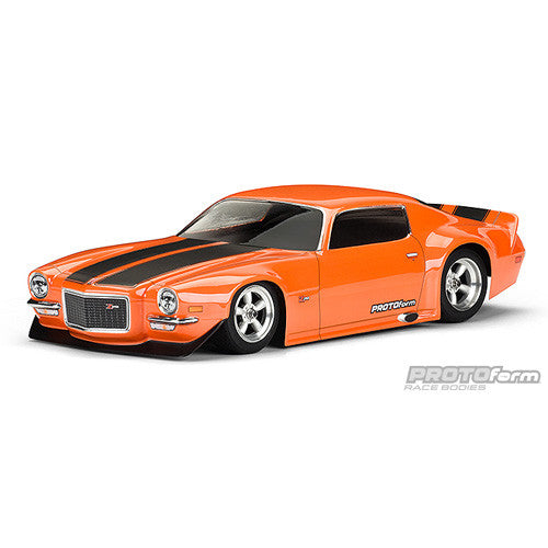 PROTOFORM 1971 Chevrolet® Camaro™ Z28 Clear Body - 1552-40 - ActivRC - 1