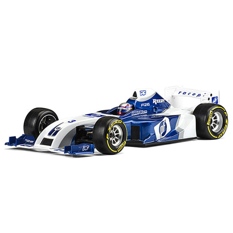 PROTOFORM F26 Clear Body 1/10 Formula 1 - 1561-22