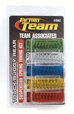 TEAM ASSOCIATED FT TRUCK/BUGGY REAR SPRING KIT - 1582 - ActivRC