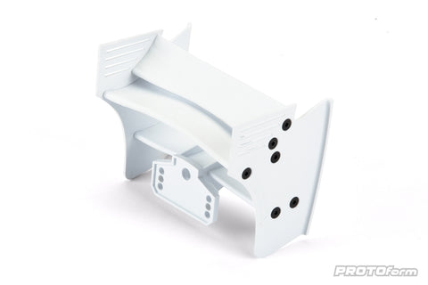 PROTOFORM F1 Rear Wing for 1:10 Formula 1 (White) - 1723-04