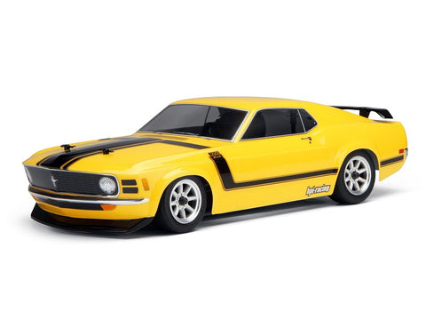 HPI 1970 Ford Mustang BOSS 302 Body 200mm - 17546