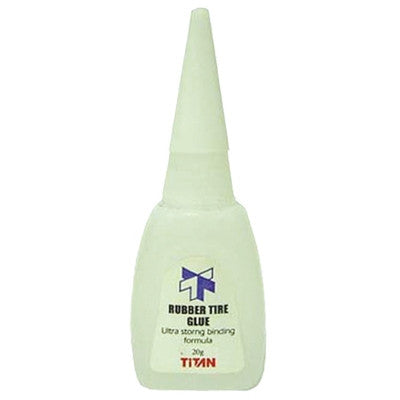 TITAN RUBBER TIRE GLUE CA - 20101 - ActivRC