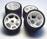 "CRC ""Pro-Cut"" 1/12 Rear Tires Yellow Compound (2) - CLN2181"