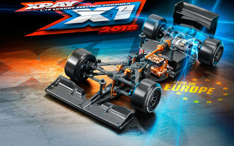 XRAY X1 2018 Luxury 1/10 F1 Chassis Kit - 370703
