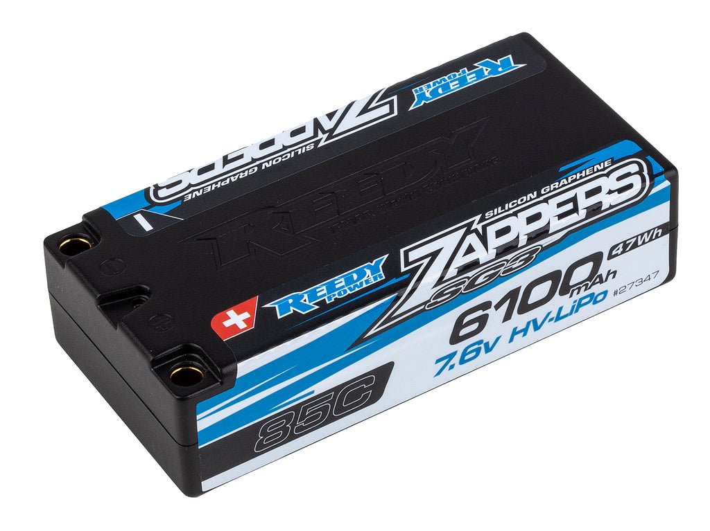 REEDY Zappers SG3 HV 6100mAh 85C 7.6V Shorty - 27347