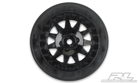 PRO-LINE F-11 Short Course Wheels Black ProTrac 2wd Slash - 2740-03