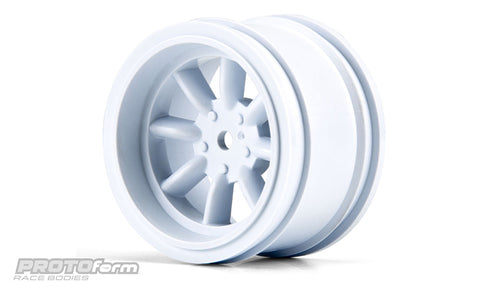 PROTOFORM VTA Rear Wheels White (31mm) - 2765-04