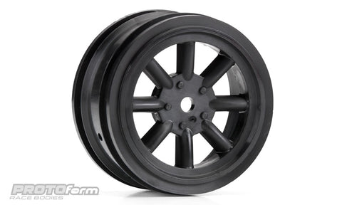 PROTOFORM VTA Front Wheels Black (26mm) - 2766-03