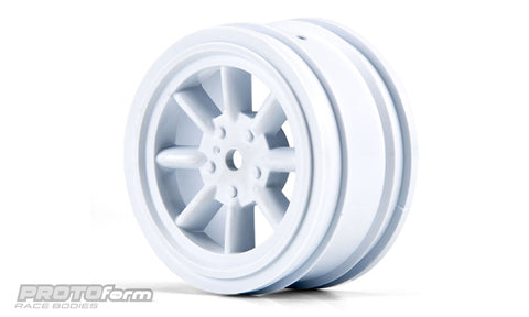 PROTOFORM VTA Front Wheels White (26mm) - 2766-04