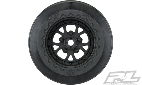 "PRO-LINE Pomona Drag Spec 2.2""/3.0"" Black Wheels - 2776-03"
