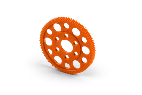 XRAY Composite Offset Spur Gear 100T / 64P Orange - 305870-O