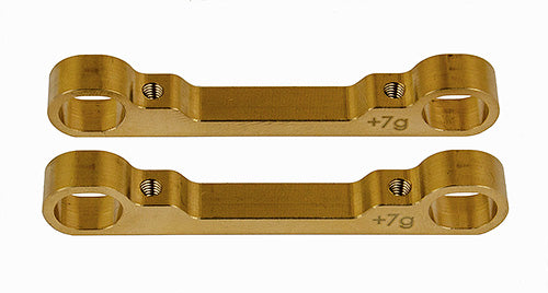 TEAM ASSOCIATED TC7.1 Brass Outer Arm Mount Set - 31661