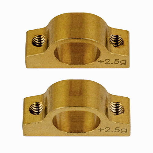 TEAM ASSOCIATED TC7.1 Brass Inner Arm Mount Set - 31662