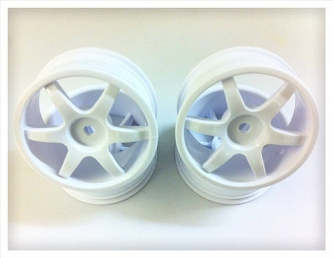 GRAVITY RC - USGT Six Spoke Ultra Light Racing Wheel (24mm) (4) - GRC126 - ActivRC