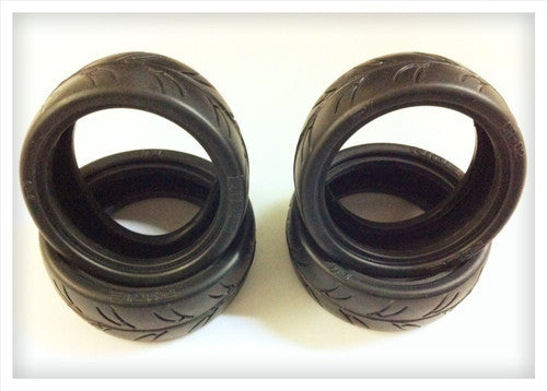 GRAVITY RC - USGT Spec Tires and Inserts (4) - GRC125 - ActivRC