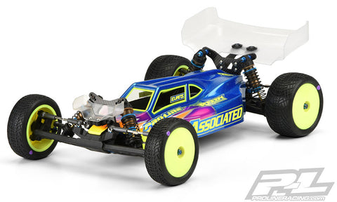 PRO-LINE B6/B6D Elite 2wd Buggy Body Light Weight (Clear) - 3486-25