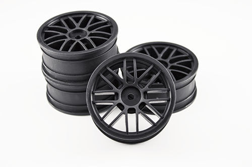 GRAVITY RC - GT spoke wheel (Black) (4) - GRC129B - ActivRC