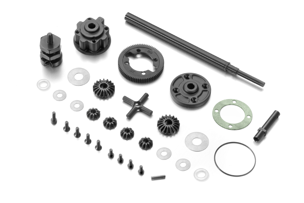 XRAY X1 1/10 Formula Car Gear Differential Set V2 - 374901