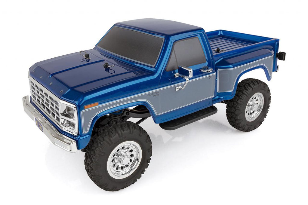 TEAM ASSOCIATED CR12 Ford F150 Pick-Up RTR Blue - 40002