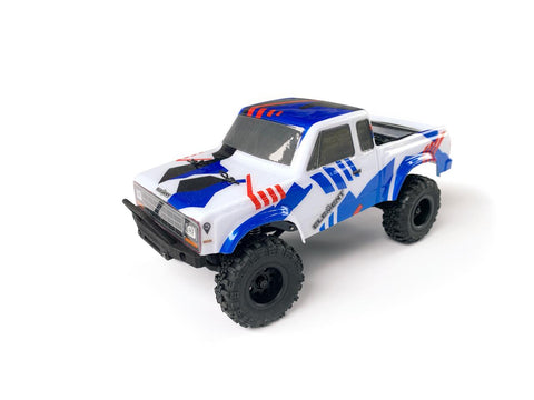 ELEMENT RC Enduro24 Sendero 4x4 RTR 1/24 Mini Trail Truck (Red/Blue) - 20181
