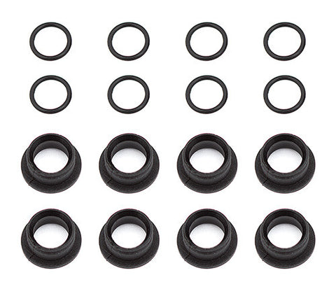 TEAM ASSOCIATED RC10F6 Suspension Arm Pivot Ball Bushings - 4754