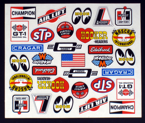 McALLISTER Vintage Racing Decal - 518