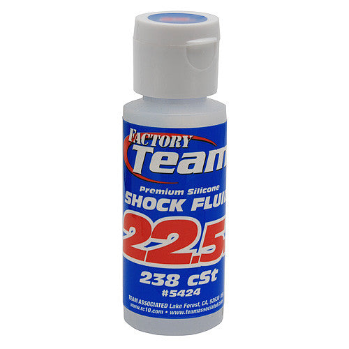 TEAM ASSOCIATED 22.5wt Silicone Shock Oil 2oz - 238 CST - 5424