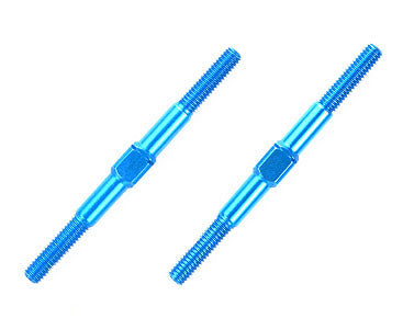 TAMIYA Aluminum Turnbuckle Shaft - 3x42mm (2pcs) - 54250 - ActivRC - 1