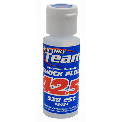 TEAM ASSOCIATED 42.5 WT SILICONE SHOCK OIL 2 OZ - 538 CST - 5434 - ActivRC