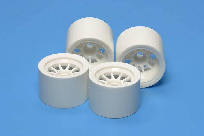 TAMIYA RC F104 Wheel Set White - 54526 - ActivRC