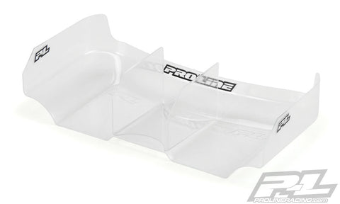 "PRO-LINE Air Force 2 Lightweight 6.5"" Clear Wing with Center Fin - 6320-00"